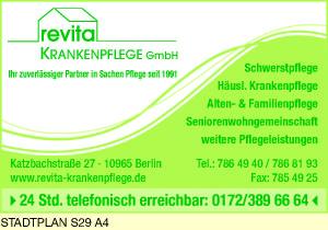 Logo von Revita Krankenpflege GmbH