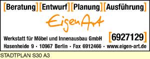 Logo von EigenArt Werkstatt für Möbel und Innenausbau GmbH