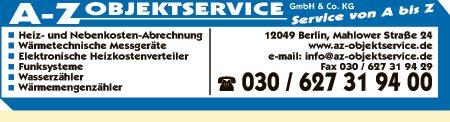 A-Z Objektservice GmbH & Co. KG