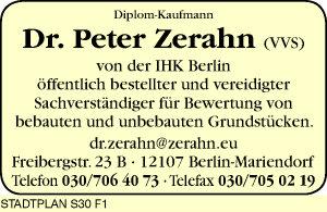 Logo von Zerahn Peter Dr. Dipl.-Kfm.