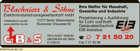 Blachnierz & Söhne Elektroinstallationsgesellschaft mbH