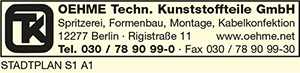 Oehme Techn. Kunststoffteile GmbH