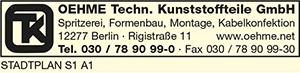 Logo von Oehme Techn. Kunststoffteile GmbH