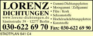 Lorenz Dichtungen