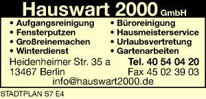 Hauswart 2000 GmbH