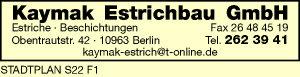 Kaymak Estrichbau GmbH
