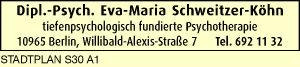 Logo von Schweitzer-Köhn Eva-Maria Dipl.-Psych.