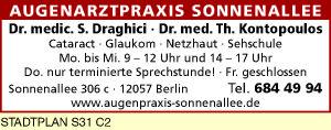 Draghici, S., Dr. medic. und<P>Dr. med. Th. Kontopoulos