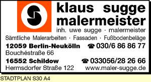 Sugge, Klaus,  Inh. Uwe Sugge