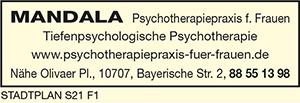 Mandala Psychotherapiepraxis für Frauen