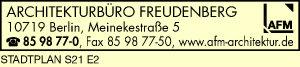 Logo von AFM Architekturbüro Freudenberg
