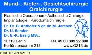 Anthofer, B. & M. Jaresch, Sander, U. und E.-K. Essig, MSc Dres.
