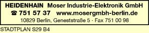 Moser Industrie-Elektronik GmbH