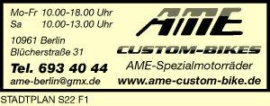 AME-Spezialmotorräder