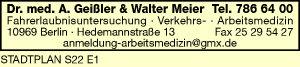 Geißler, Annette, Dr. med. & Walter Meier