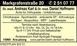 Karl, Andreas, Dr. med. und Dr. med. Daniel Hoffmann