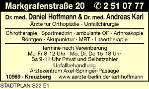 Hoffmann, Daniel, Dr. med. und Dr. med. Andreas Karl
