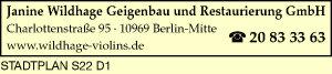 Wildhage, Janine Geigenbau und Restaurierung GmbH
