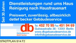 Becker, Detlef Gebäudeservice