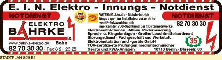 Bahrke & Sohn Elektroinstallation und -geräte GmbH
