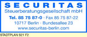 Securitas Steuerberatungsgesellschaft Mbh 10717 Berlin