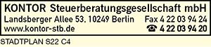 Kontor Steuerberatungsges. mbH