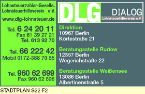DLG DIALOG Lohnsteuerzahler-Gesellschaft Lohnsteuerhilfeverein e.V.