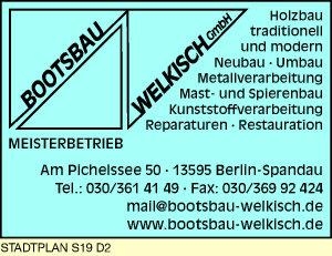 Logo von Bootsbau Welkisch GmbH