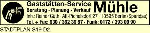 Gaststätten-Service Mühle, Inh. Reiner Güth