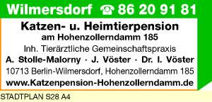 Stolle-Malorny, A., Vöster, J. und Dr. I. Vöster