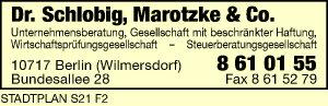 Schlobig, Dr., Marotzke & Co. Unternehmensberatung GmbH