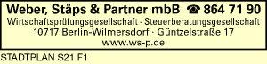 Weber, Stäps & Partner mbB