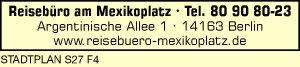 Reisebüro am Mexikoplatz