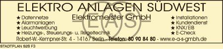 EAS Elektro Anlagen Südwest Elektromeister GmbH