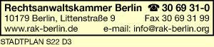 Rechtsanwaltskammer Berlin