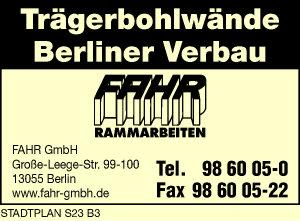 Fahr GmbH Rammarbeiten