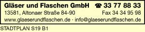 Logo von Gläser und Flaschen GmbH