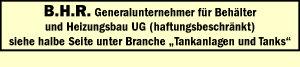 B.H.R. Generalunternehmer für Behälter und Heizungsbau UG (haftungsbeschränkt)