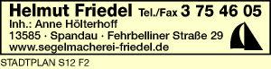 Friedel, Helmut, Inh. Anne Hölterhoff