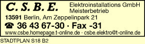 C.S.B.E. Elektroinstallations GmbH