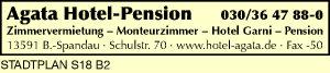 Logo von Agata Hotel-Pension