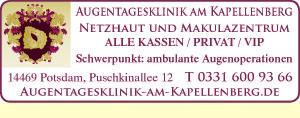 Augentagesklinik am Kapellenberg - Netzhaut und Makulazentrum
