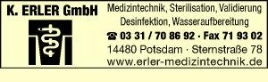 Logo von Erler GmbH K.