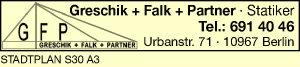 Logo von Greschik + Falk + Partner