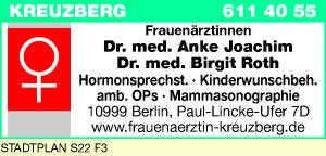 Joachim, Anke, Dr. und Dr. Birgit Roth