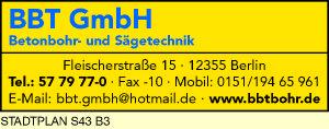 BBT Betonbohr- und Sägetechnik GmbH