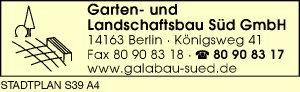 Garten- und Landschaftsbau Süd GmbH