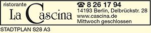 Logo von La Cascina Ristorante