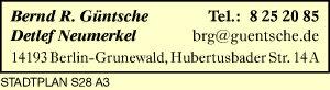 Güntsche, Bernd R. und Detlef Neumerkel