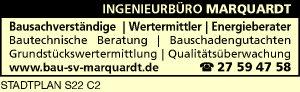Logo von INGENIEURBÜRO MARQUARDT Bausachverständiger, Wertermittler, Energieberater